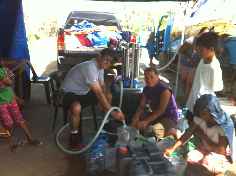 disaster relief water filter systems