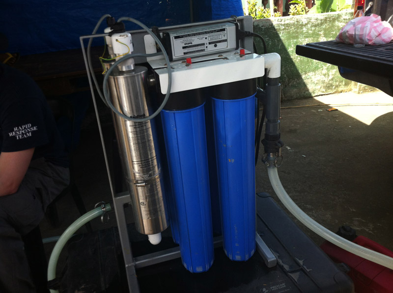 Emergency Disaster Relief Water Purification Systems