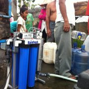 emergency disaster relief water purification systems AR10 Philippines