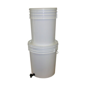 bucket gravity water filter MP4U