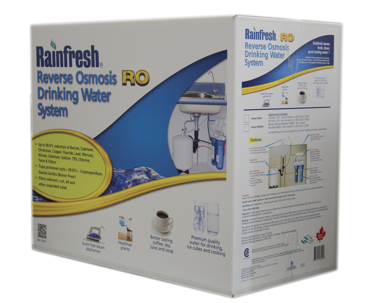 Reverse Osmosis System Canada For Home Drinking Water