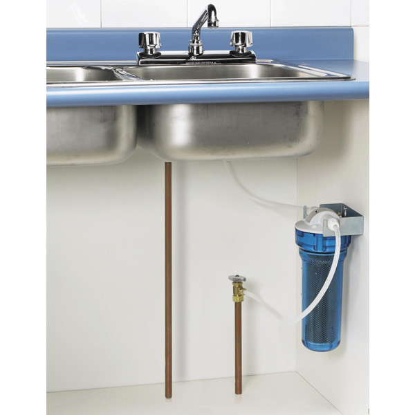 Water Filter Under Kitchen Sink.Undersink Water Filter Kitchen Faucet Separate Faucet Not