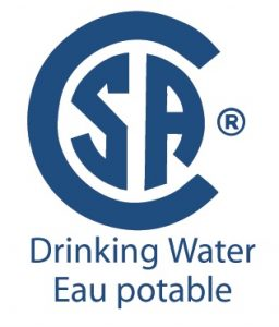 CSA Drinking water logo