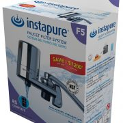 Instapure F5C - all chrome faucet mount filter - Packaging