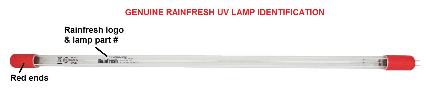 Uv Water Purification Systems Made In Canada Rainfresh
