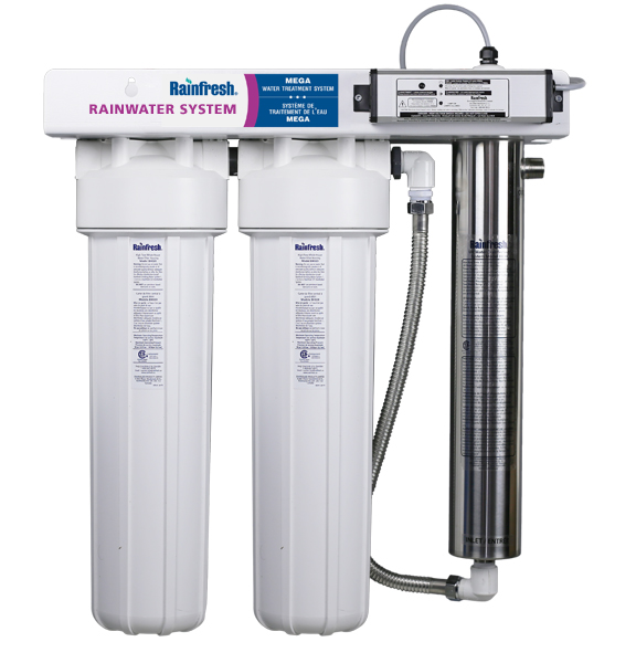 Rainwater Filter System For Pure Clean Safe Water