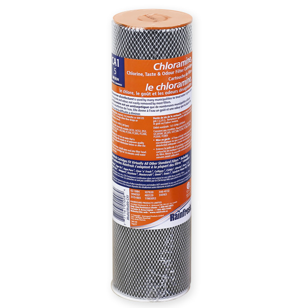 CA1 chloramine removal filter cartridge