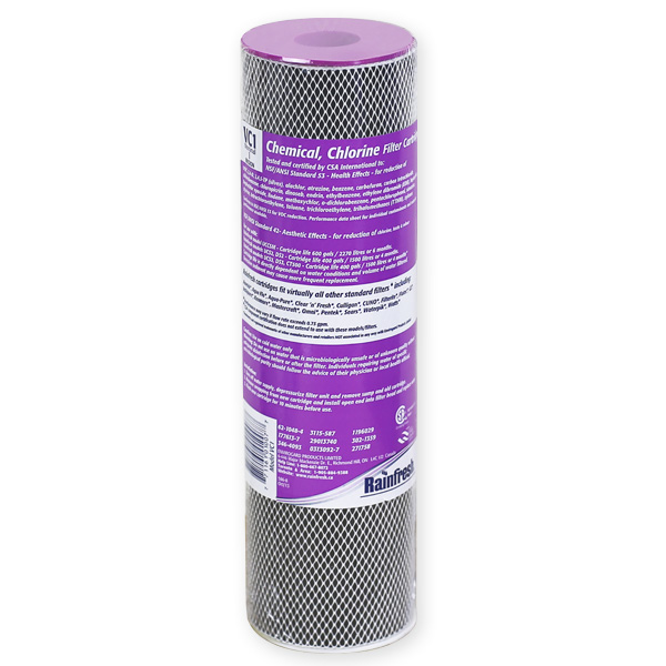 VC1 chemical removal filter cartridge