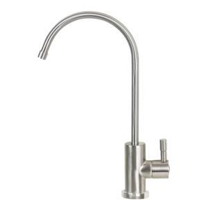drinking water faucet brushed nickel