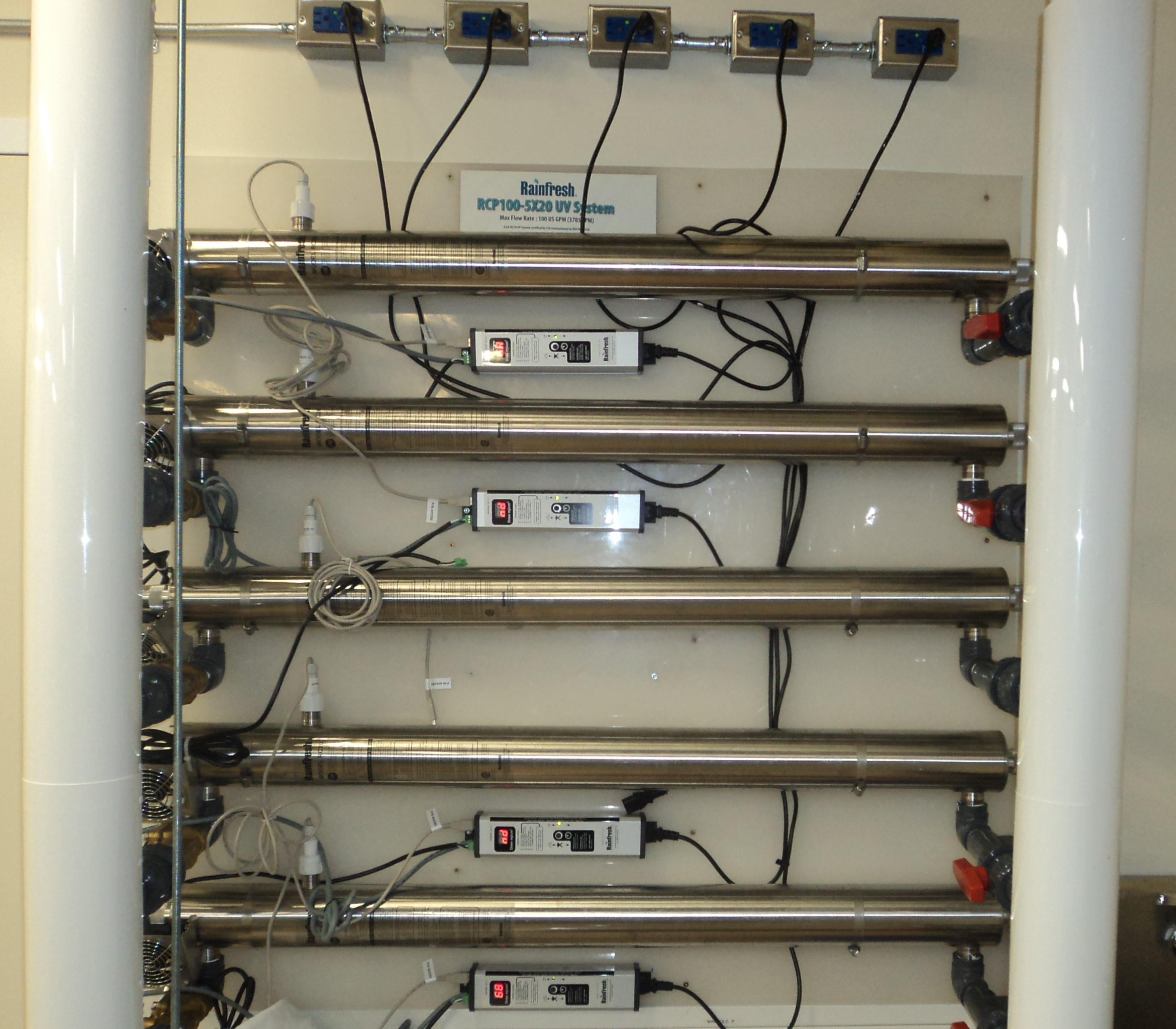 Commercial Uv Water Purification Systems Up To 660 Gpm 150 M3 Hr Wiring