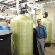 Commercial water softener installation Vikas Thusoo