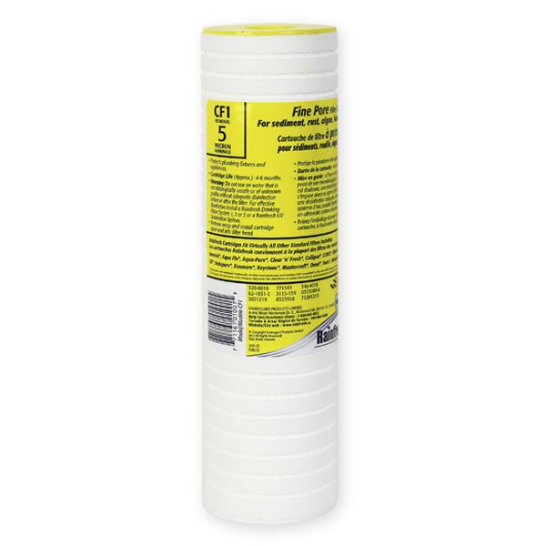 CF1 5 micron water filter cartridges